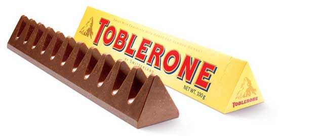 Toblerone-packaging