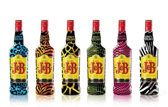 Packaging de J&B / Fuente: Pinterest