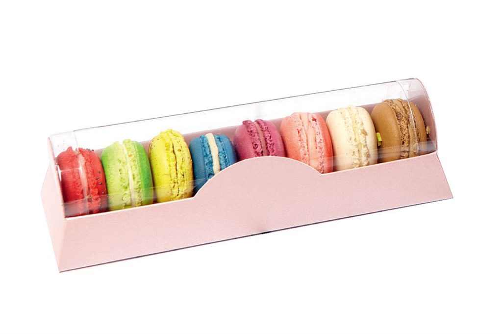 Packaging de macarons / Fuente: pasdecor.com